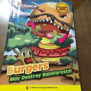 The Science Inquirer Series - Burgers May Destroy Rainforests
