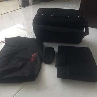Laptop bags with suitcase for short business trip