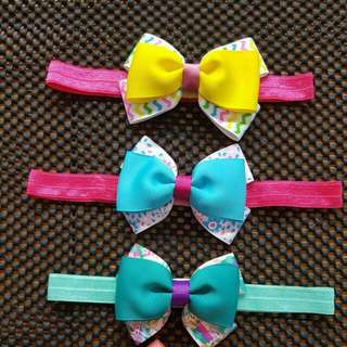 (Ready Stock) Baby Headband@3pcs For Rm20