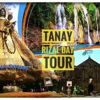 TANAY RIZAL DAY TOUR