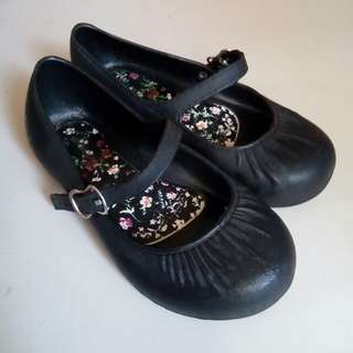 Black Jelly Shoes for Baby Girls (6cm)
