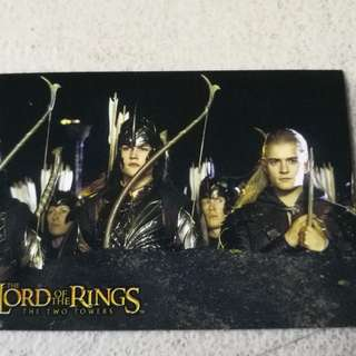 Lord of the rings card hobby japan lotr