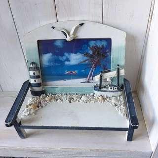 海洋風相框(3✖️5 照片)