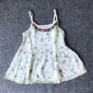 (9-12 mths) Baby girl dress (cooling)