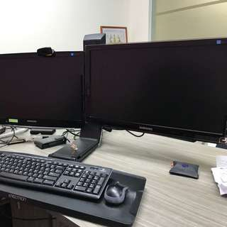 Ergotron Just Stand for Dual monitor