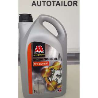Millers Oils Fully Synthetic CFS 5W40 NT (5L)