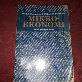 Buku micro ekonomi