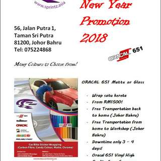 Car Wrapping PROMOSI CNY