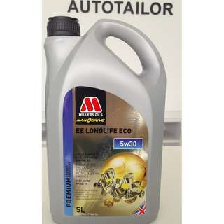 Millers Oils Fully Synthetic EE LONGLIFE 5W30 ECO