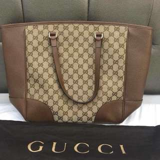 Gucci Large Zip tote