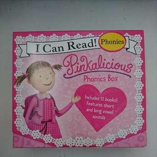 Pinkalicious Phonics box
