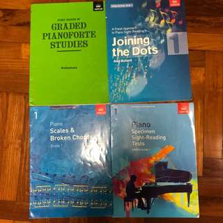 ABRSM piano books grade 1/ beginner