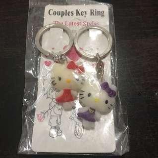 Hello Kitty Keychain Couple