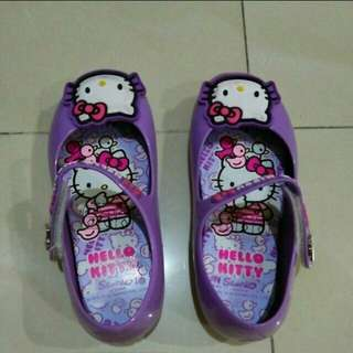 HELLO KITTY Purple Shoes