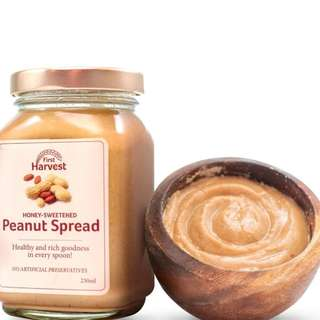 First Harvest Peanut Spread 250g by Human❤Nature