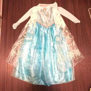 正版Disney Frozen Elsa 公主裙 princess dress