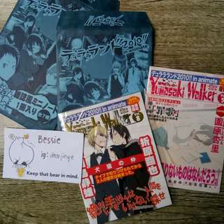 Durarara!! Small Notebooks