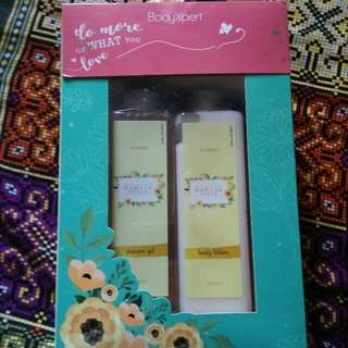 Shower Gel and Body Lotion