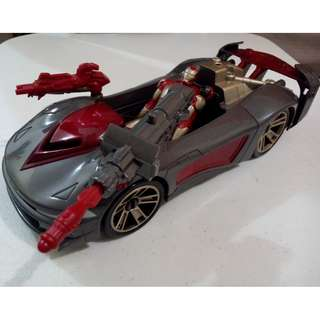 IRON MAN 3 ASSEMBLERS WITH BATTLE VEHICLE CAR