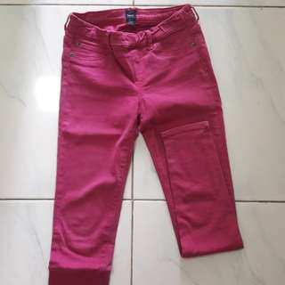 Jeans Legging Ungu GAP KIDS