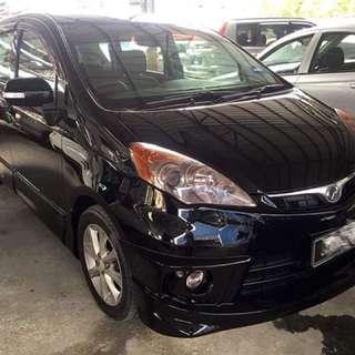Perodua Alza 1.5 Auto EZI Tahun 2011