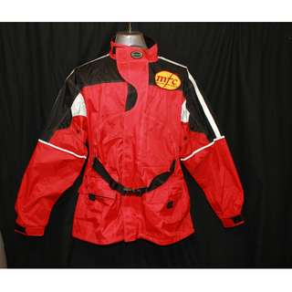 Belstaff Motorcycle Motocross Jacket Size M VINTAGE WATERPROOF Nylon PVC