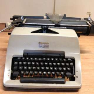 Vintage manual Olympia typewriter