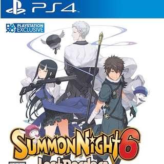 PS4 Summon Night 6