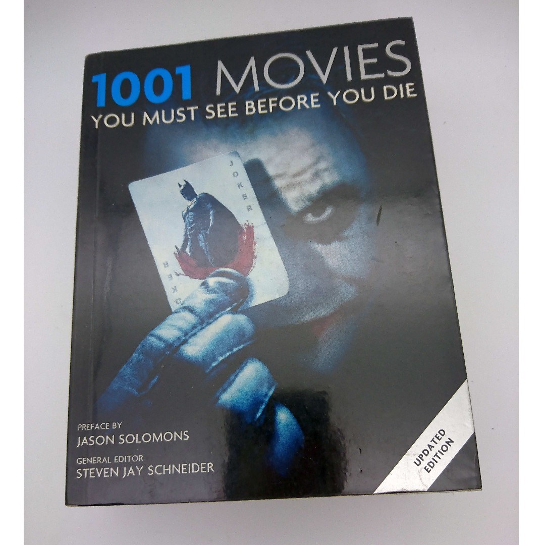 1001 movies you must see before you die (free delivery), Books &  Stationery, Fiction on Carousell