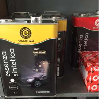 Premium Engine Oil - Essenza Italian Lubricant