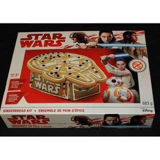 Disney Star Wars Millennium Falcon Gingerbread Kit Model NIB