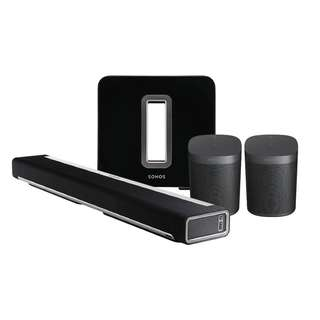 Sonos One 5.1 Home Theater Package (Local Set, Free Delivery)