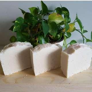 Himalayan Pink Salt Scrub Bar (100% Handmade Soap)