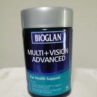 Bioglan Multi + Vision Advanced