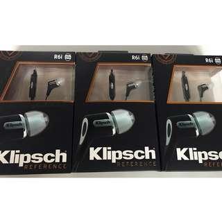 Klipsch R6i 黑色全新 包順豐