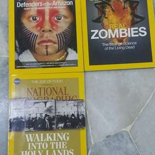 National Geographic old issues (2014 & 2015)