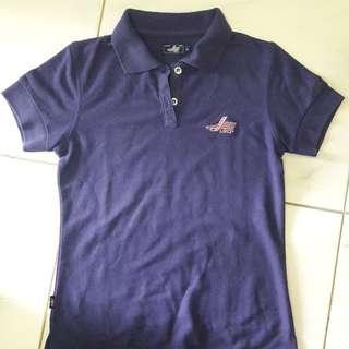 Lea Shirt warna BiruUngu