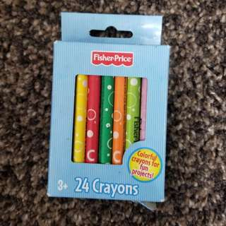 NEW Fisher Price 24 Crayons