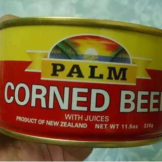 Palm Cornedbeef from New Zealand 2021 expiration date