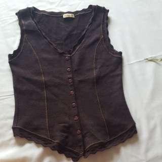 Le Maglie knit Vest