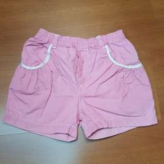 Celana pendek pink 4-6TH