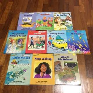 Reading Bee Children Books (4pc of each tittles)