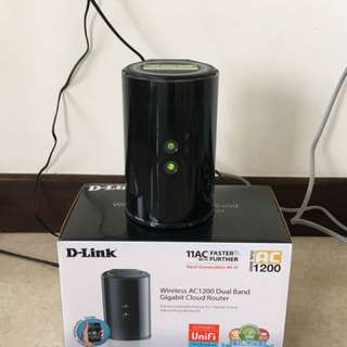 D-Link Wire for internet