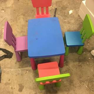 TOYOGO Childrens tables and chairs