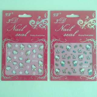 3D Nail stickers (Hello Kitty Series)