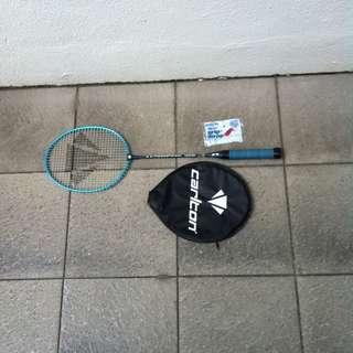 Carlton 4.3  badminton racket.