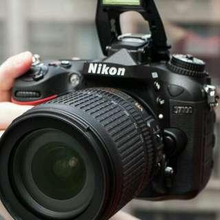 Kredit Kamera Nikon D7100