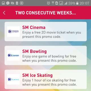 Sm discounted tickets!