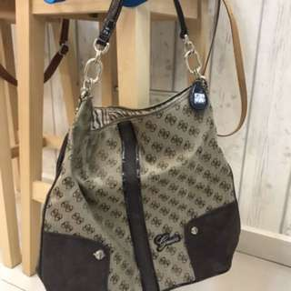 Auth Guess Big Square Bag