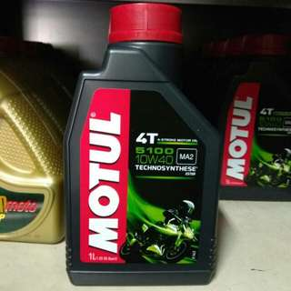 MOTUL 5100 4T SEMI SYNTHETIC ORI